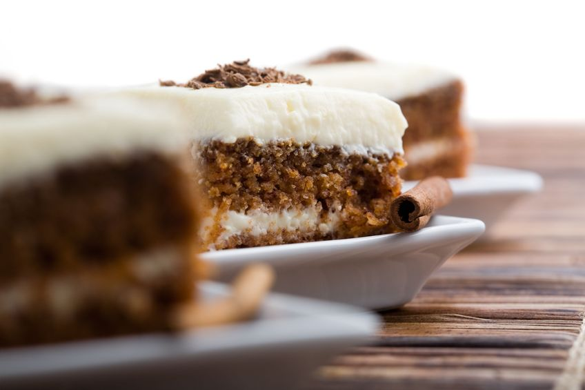 Best Carrot Cake with Maple Cream Cheese Icing