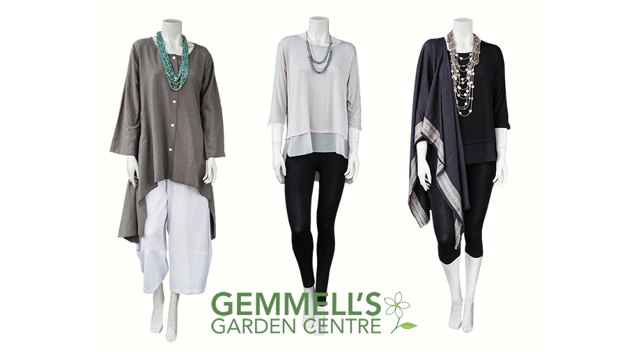 Clothing at Gemmell's Garden Centre