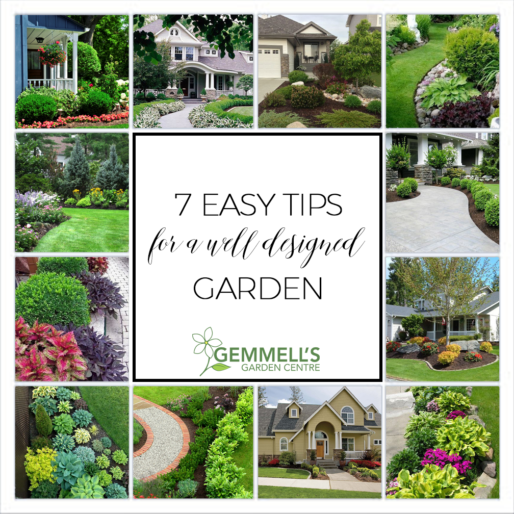 Increase Your Curb Appeal with 7 Simple Tips for a Well Designed Garden