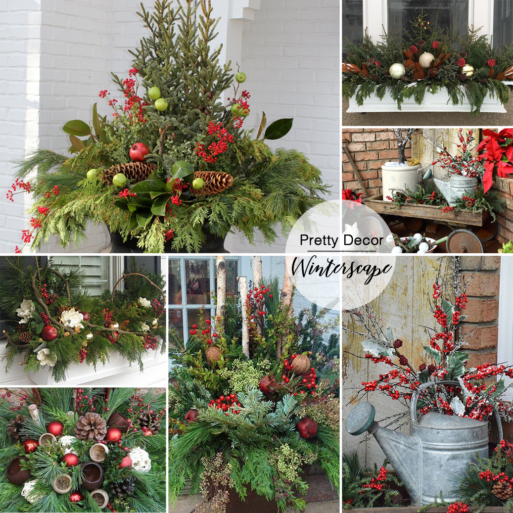 learn how to create a beautiful evergreen planter that will last all winter long